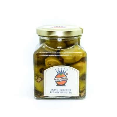 Olive con Pomodori Secchi